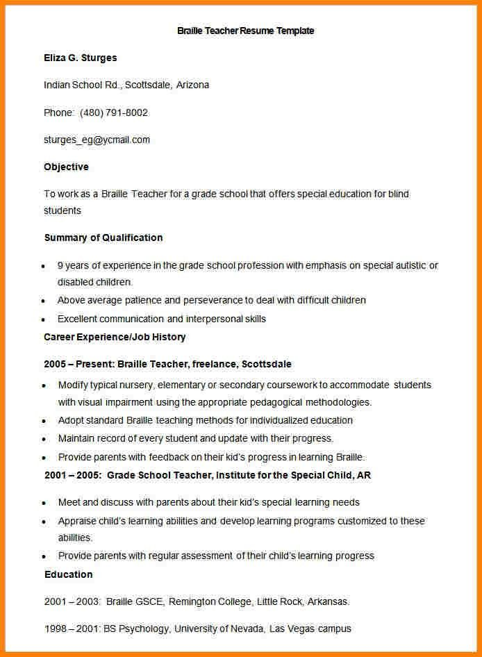 Examples Of Teaching Resumes. Teacher Cover Letter Examples ...