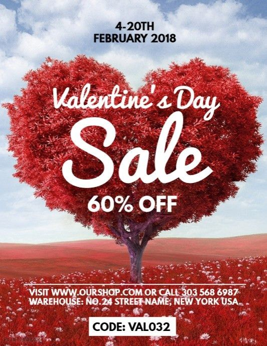 Valentine's Retail Poster Templates | PosterMyWall