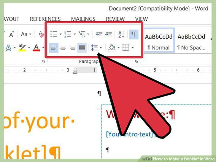 How to Make a Booklet in Word: 12 Steps (with Pictures) - wikiHow