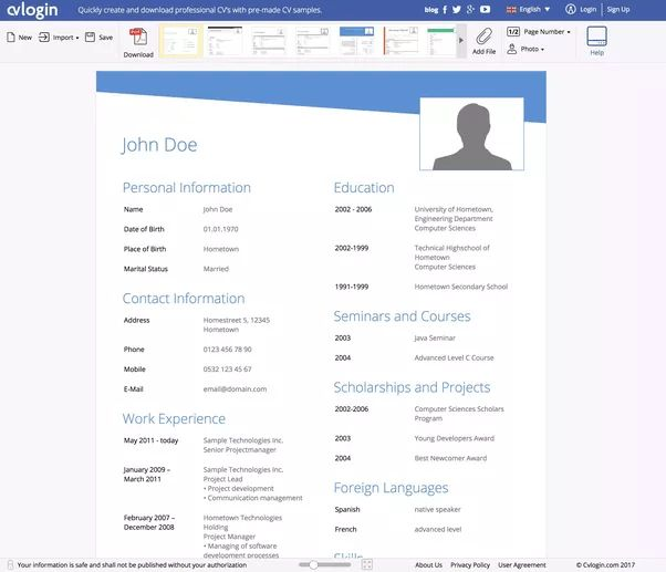 What is a good free resume builder? - Quora