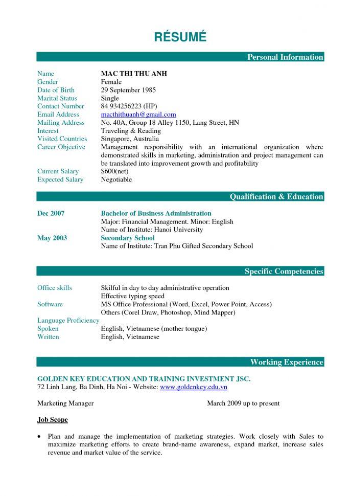Barback Resume No Experience Barback Job Description Resume ...