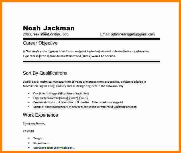 5 job resume objective examples | ledger paper