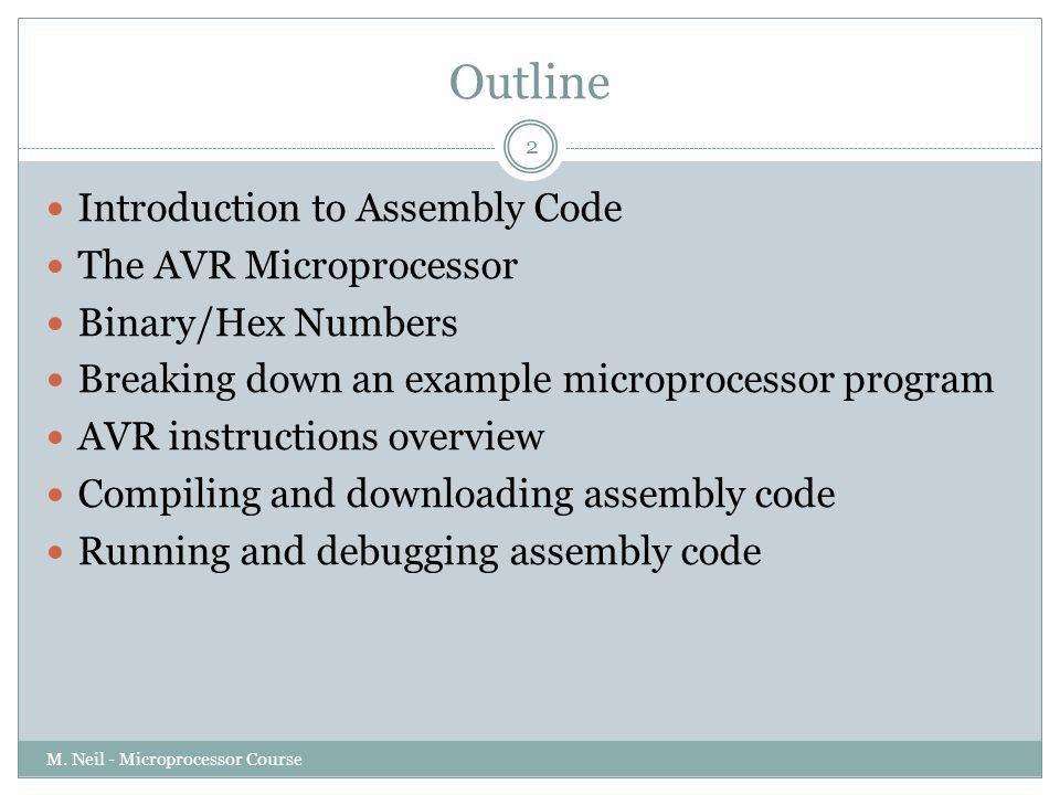 Introduction to Assembly language - ppt download