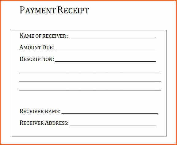 5+ template for payment received - Budget Template Letter