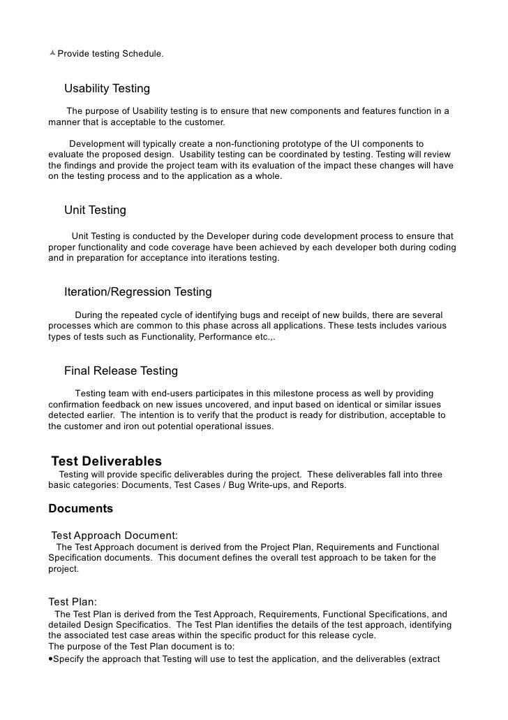 Testing Plan Template. Software; 15 Functional/Regression Test ...