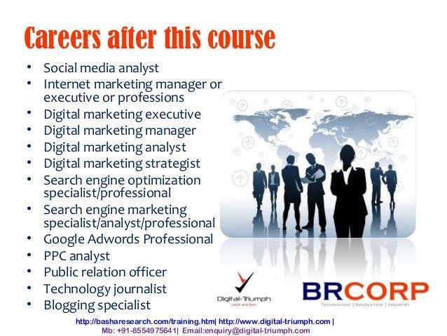 Digital Marketing Training by Digital Triumph & BRCORP - online train…