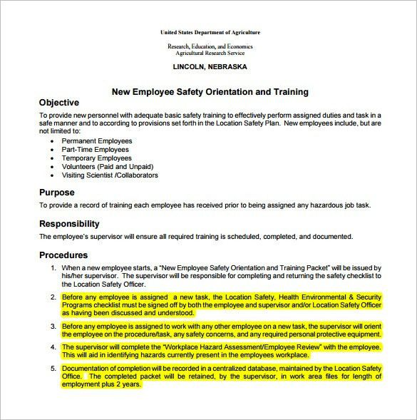 Employee Action Plan Template – 8+ Free Sample, Example, Format ...