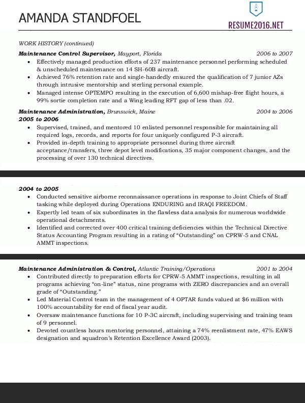Resume Samples Examples Specialist Federal Government For ...