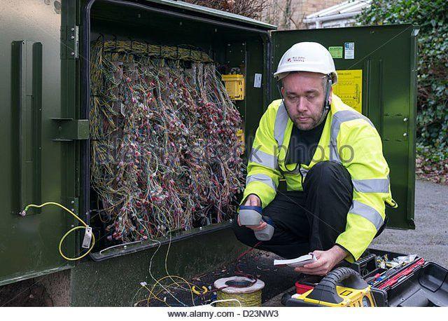 Telecoms Technician Stock Photos & Telecoms Technician Stock ...