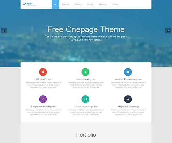 40 Best Free Bootstrap HTML Website Templates - 陈斌彬的技术博客