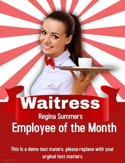 Employee of the Month template   PosterMyWall