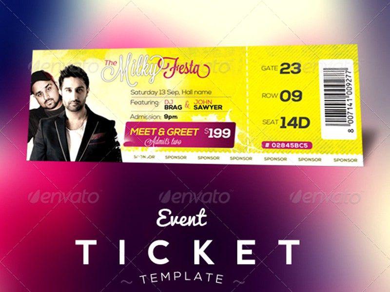 18+ Event Ticket Templates psd   PSDTemplatesBlog