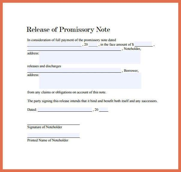 free promissory note template | bio example