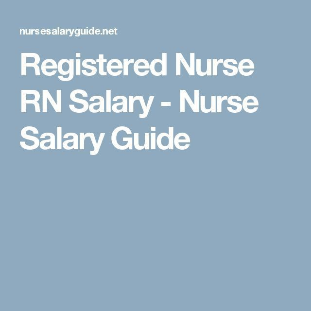Best 25+ Rn salary ideas on Pinterest | Nursing career, Registered ...