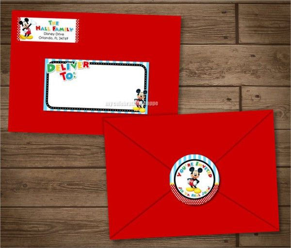 Address Label Template - Free PSD, Vector EPS, Format Download ...
