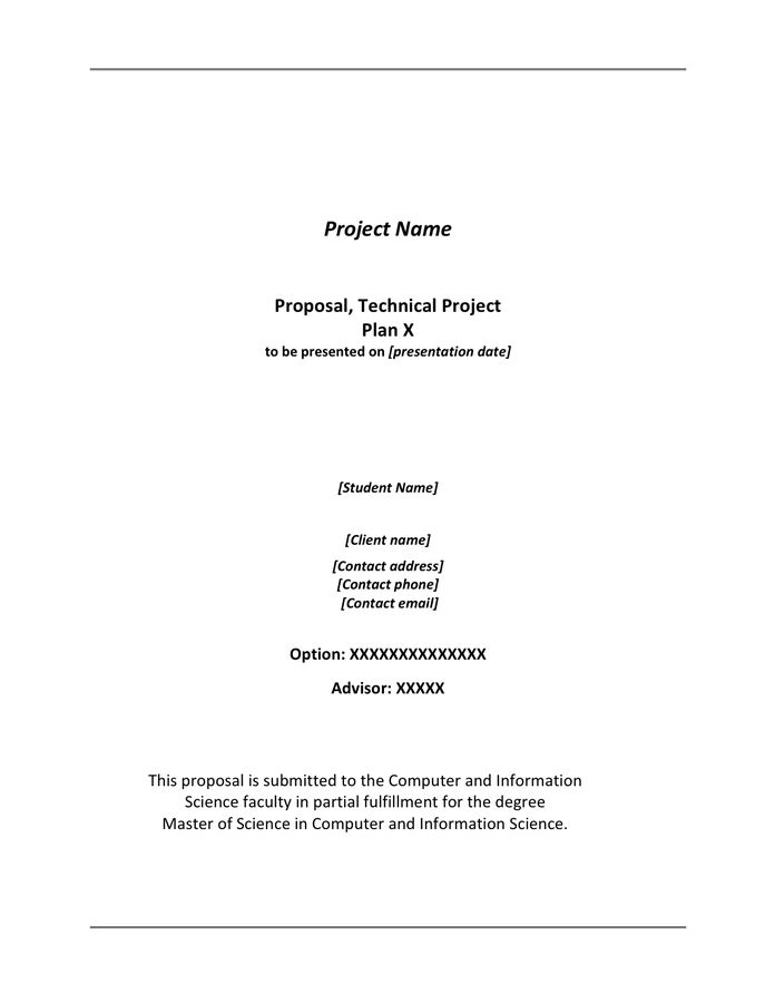 Sales Proposal Template - download free documents for PDF, Word ...