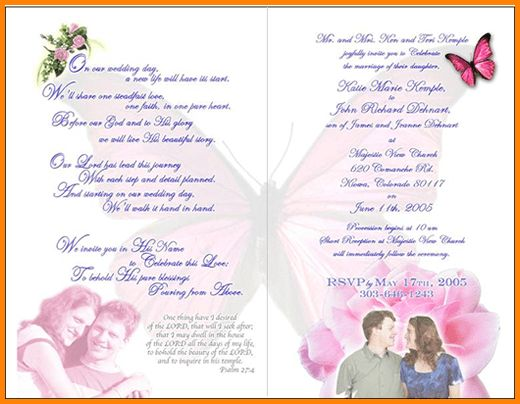 8+ wedding invitation format | memo templates