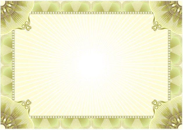 5 Blank certificate samples | Blank Certificates