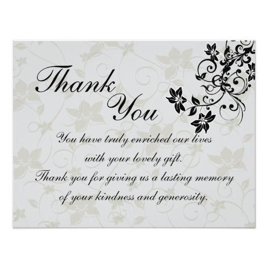 wedding gift thank you cards – Invitations 4 U