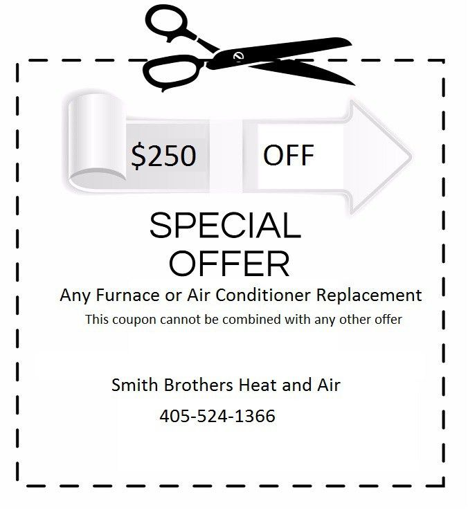 Special Offers - Smith Brothers Heat and Air