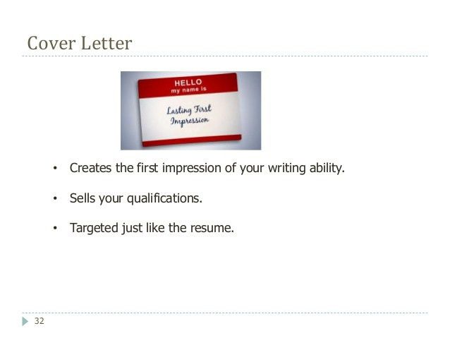 Writing Cover Letters and Resumes