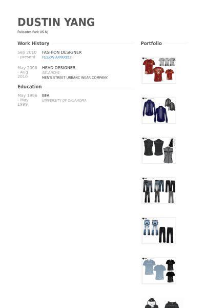 fashion designer resume samples visualcv resume samples database