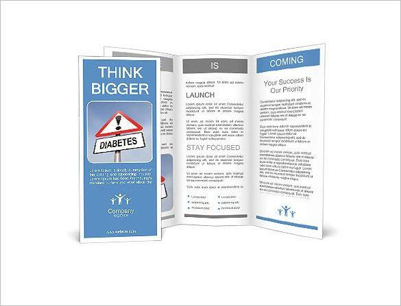 Helpful Diabetes Brochure Template - 10+ PSD, EPS, Vector Format ...