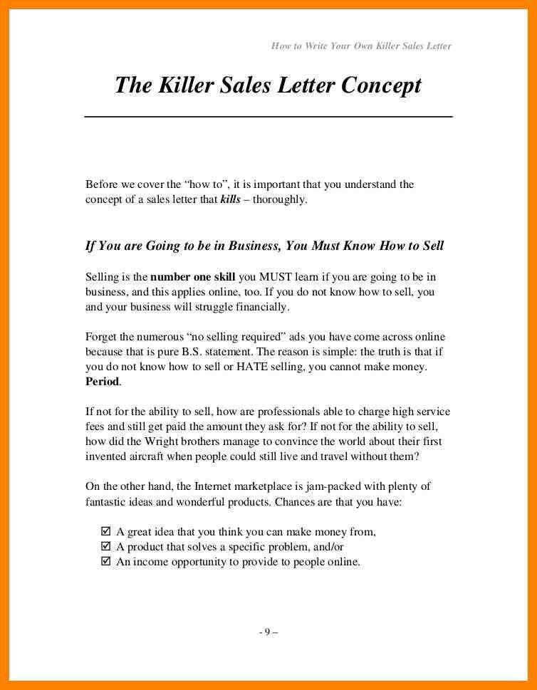 8+ sample sales letter to customers | day care receipts