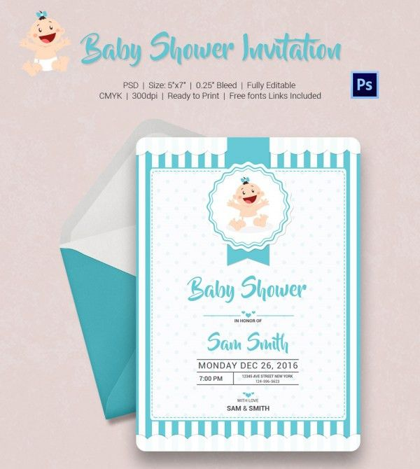 Baby Shower Invite Template – gangcraft.net
