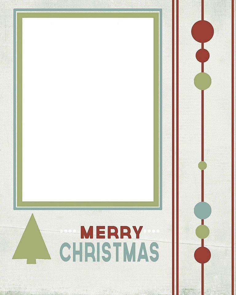 5x7 Christmas Card Templates - Contegri.com