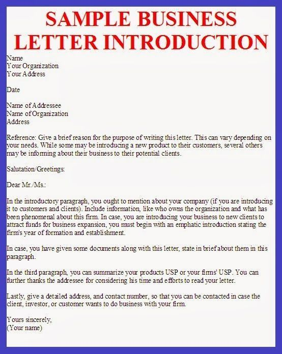 Sample Business Letter Template. Sample Business Invitation Letter ...