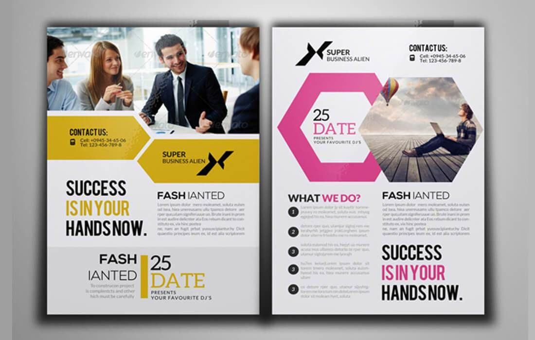 100 High-Quality Business Flyer Templates - only $17! - MightyDeals