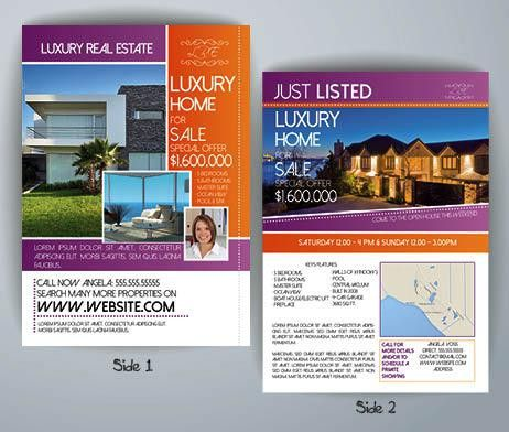 Luxury Real Estate Flyer Template | FlyerForU.com