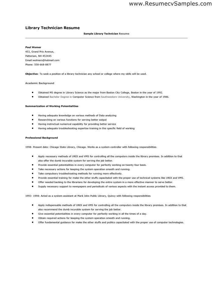sample resume electromechanical technician resume exles near ...