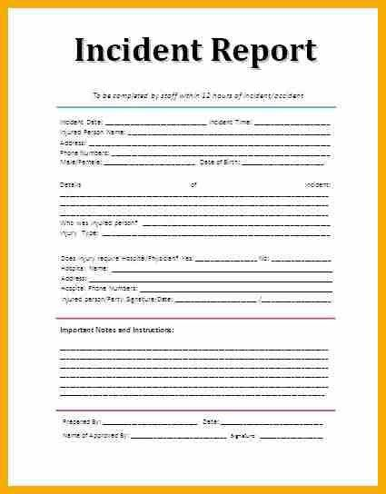 11+ accident report sample form | bursary cover letter