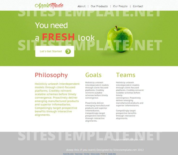 10 best Google Sites Templates images on Pinterest
