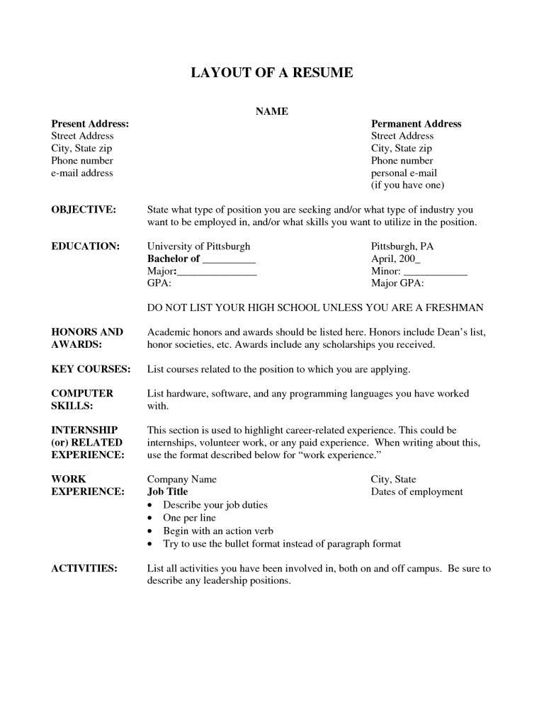 resume-layout-9 - Resume Cv