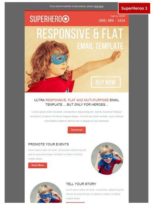 Portfolio Email Marketing Templates Kokoaweb.com October 2014 at Stam…