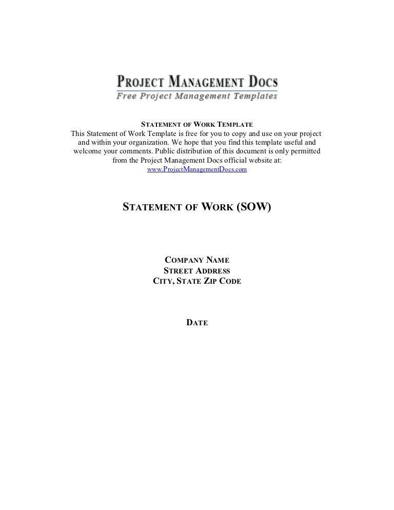 Statement of-work
