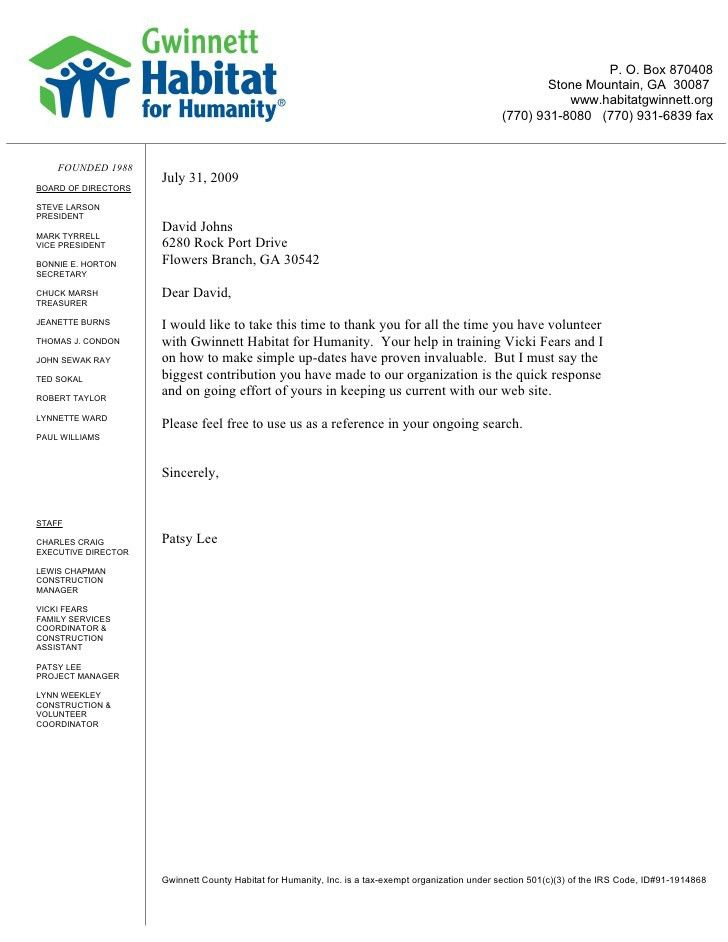 Example of application letter for volunteer nurse