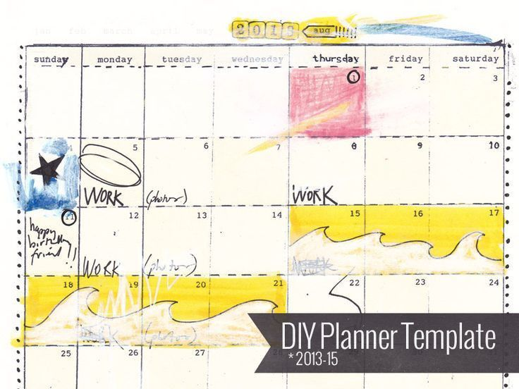 60 best Printable Planner Pages images on Pinterest | Planner ...