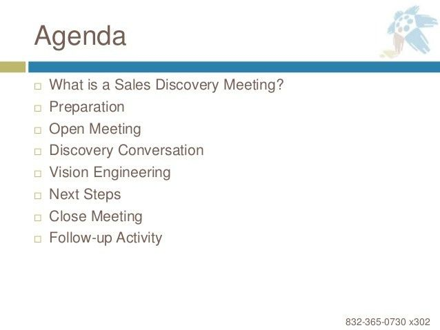 How to Lead a Discovery Meeting