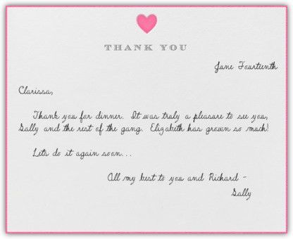Thank You Card: Unique Words For Thank You Cards Thank You Notes ...