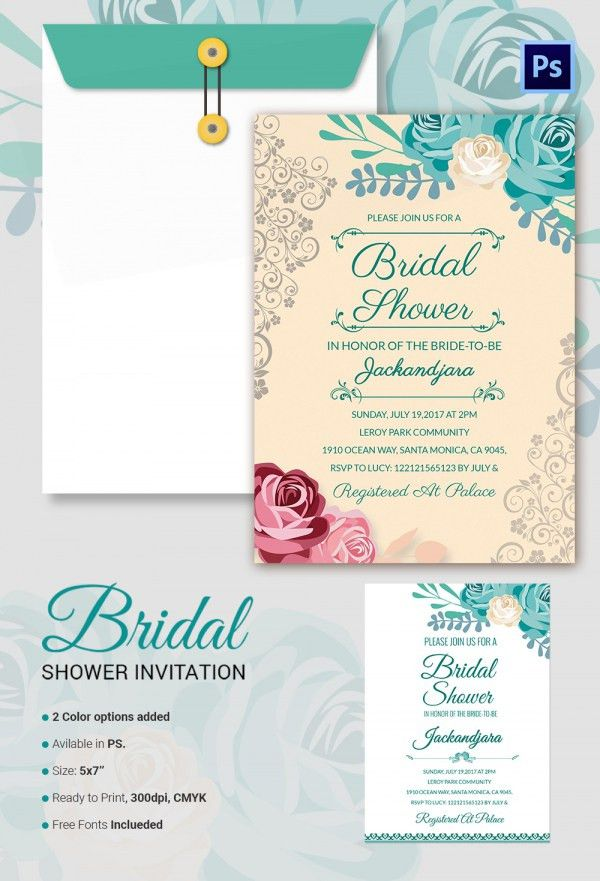 Bridal Shower Invitations Templates – gangcraft.net