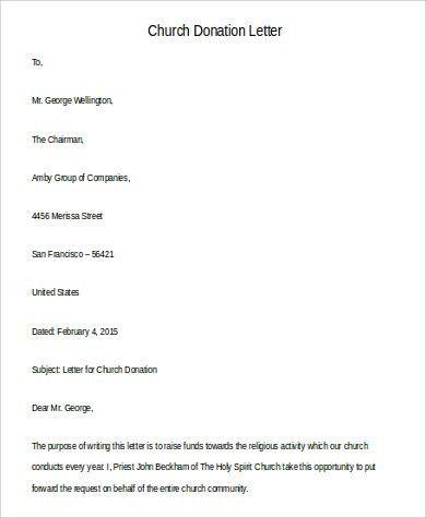 102+ Sample Letter Formats