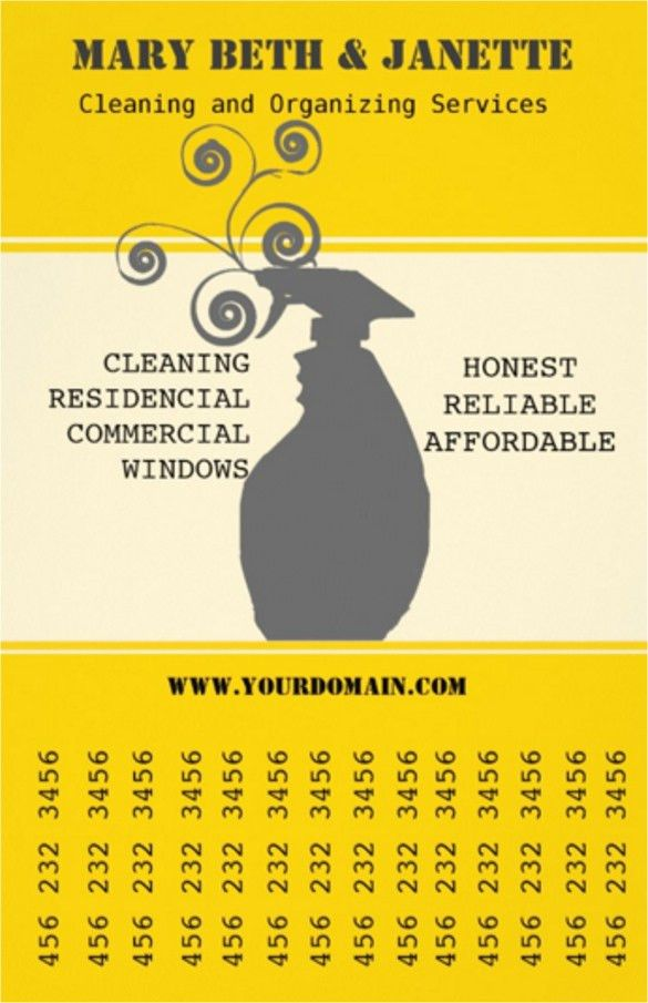 House Cleaning Flyers Template   11+ Download Documents In Vector EPS