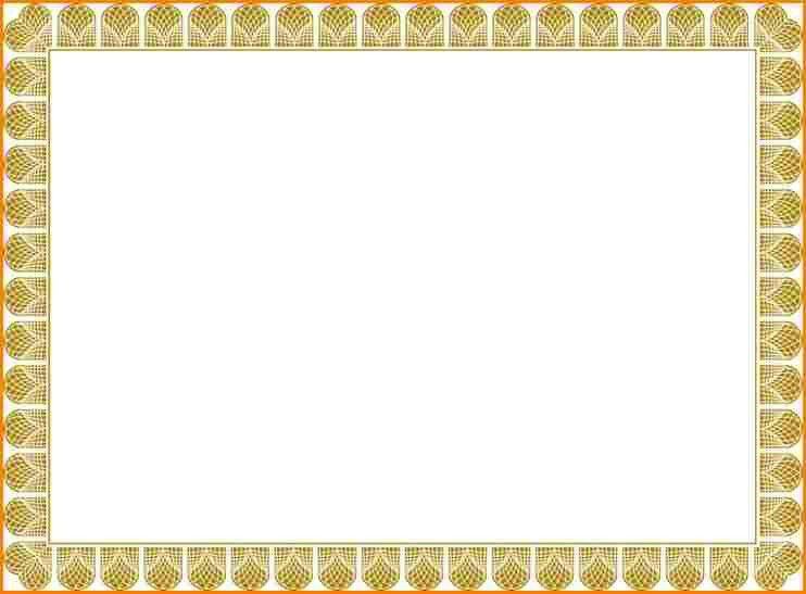 10+ blank certificate template   wedding spreadsheet