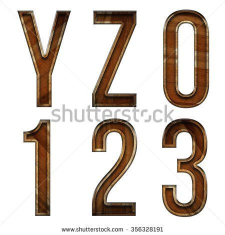Wooden Block Letter S T U Stock Illustration 356328176 - Shutterstock