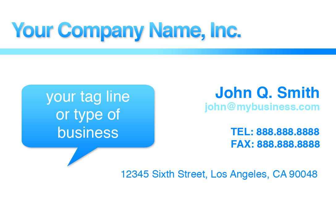Business Cards, Free Business Card Templates, Cheap Business Cards ...