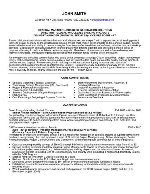 General Manager Resume | | jvwithmenow.com